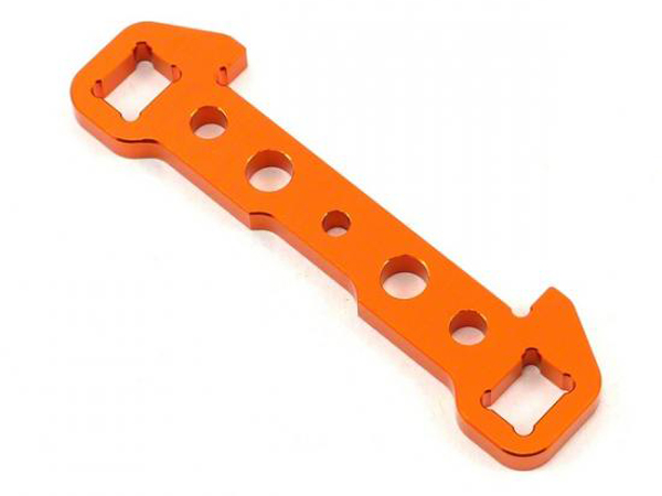 HoBao Hyper SS/Cage Rear Lower Aluminium Arm Holder-A Plate H90008