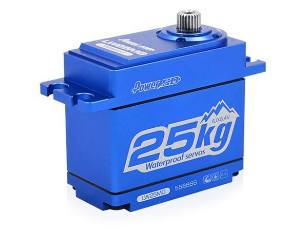 ../_images/products/small/Power HD LW25 Waterproof High Torque Metal Gear, Coreless Servo - Blue