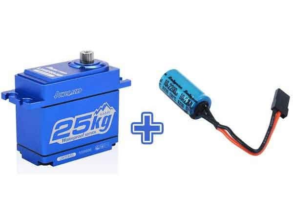 Power HD LW25 Waterproof High Torque Servo