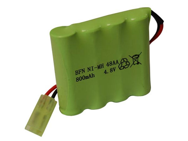 Image Of Hobby Engine Rechargeable Battery 4.8V (Construction) HE0806/0808