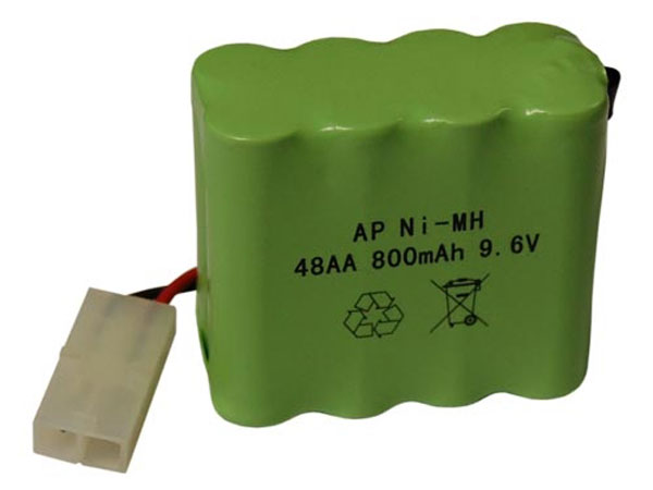 Image Of Hobby Engine Rechargeable Battery 9.6V HE0903/4/5/6
