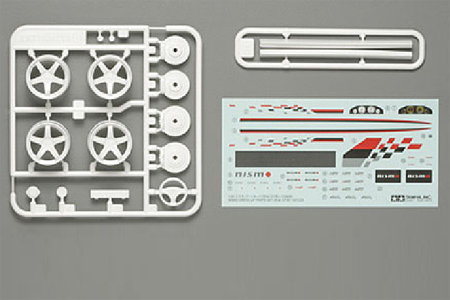 Tamiya GT-R (R34) Nismo Dress-up Parts  12608