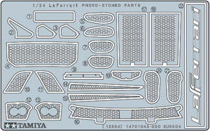 Tamiya 1/24 Scale LaFerrari Photo-Etched Parts Set 12654