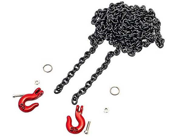 HobbyTech Metal Drag Chain with Hooks HT-SU1801021