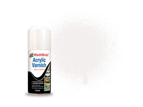 Image Of Humbrol Clear Acrylic Spray - 150ML