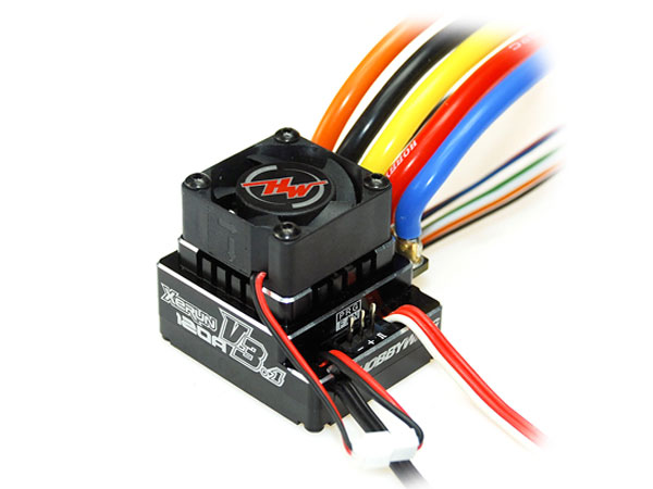 Image Of Hobbywing XERUN - V3.1 - Waterproof - Black BL ESC 120A