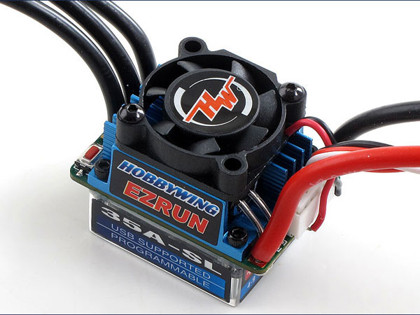 Image Of Hobbywing EZRUN-35A-SL - BL ESC - for 1/10 Car And Truck
