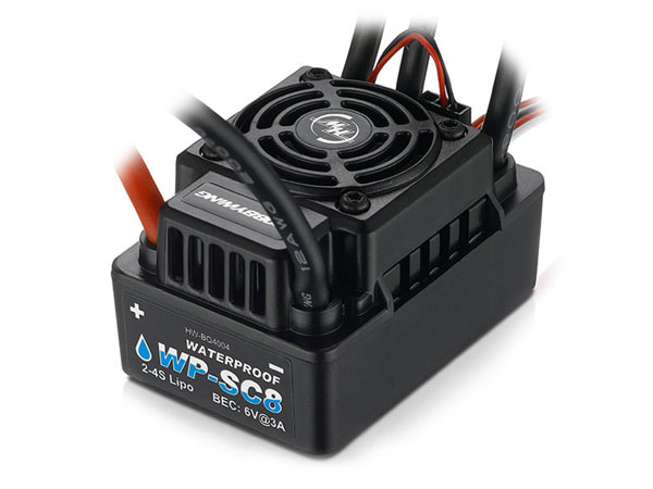 Image Of Hobbywing EZRUN-WP-SC8 -120A BL ESC 1/10 1/8 Waterproof