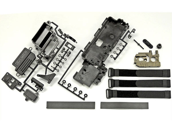 Kyosho 1 8 inferno univeral brushless conversion kit ifw451 for Rc electric motor oil