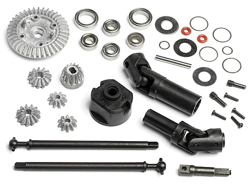 HPI 4wd Conversion Kit For Wheely King Truck 2wd 87602