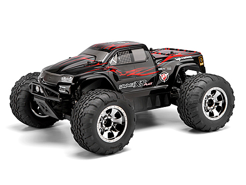 HPI Gt-2xs Painted Body (red/black/grey) 105274
