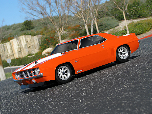 HPI 1969 Chevrolet R Camaro Z28r Body (200mm) 17531