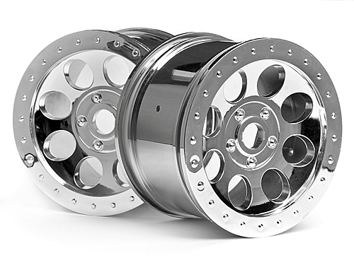 HPI Mag-8 Wheel Chrome (83x56mm/2pcs) 3187