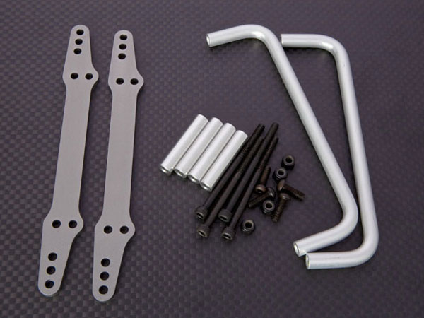 JunFac Side Bars (2) For Axial Scx10 J20028