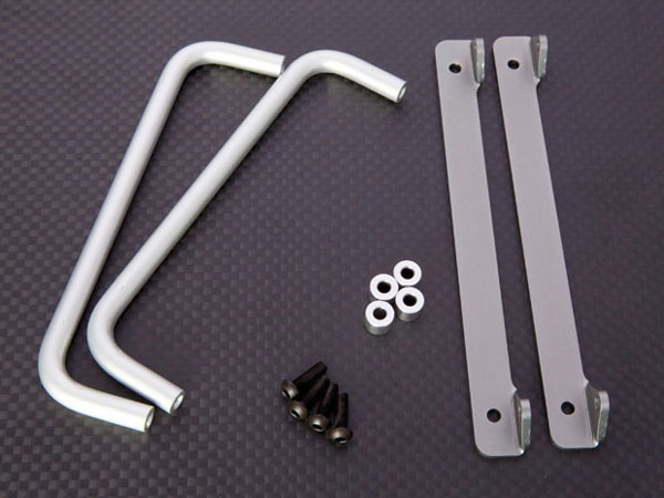 JunFac Side Bars (2) For Tamiya CC01 J20029