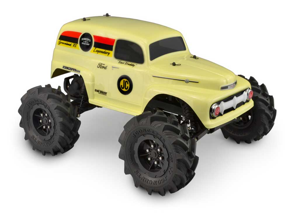 ../_images/products/small/J Concepts 1951 Ford Grandma Panel Van Monster Truck (Fits Traxxas Stampede)