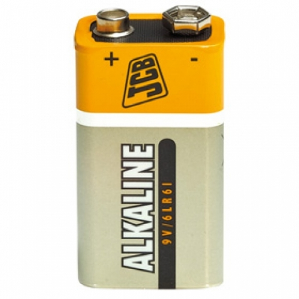 JCB Super Alkaline 9V Battery (1pk) LR22-JCBB1