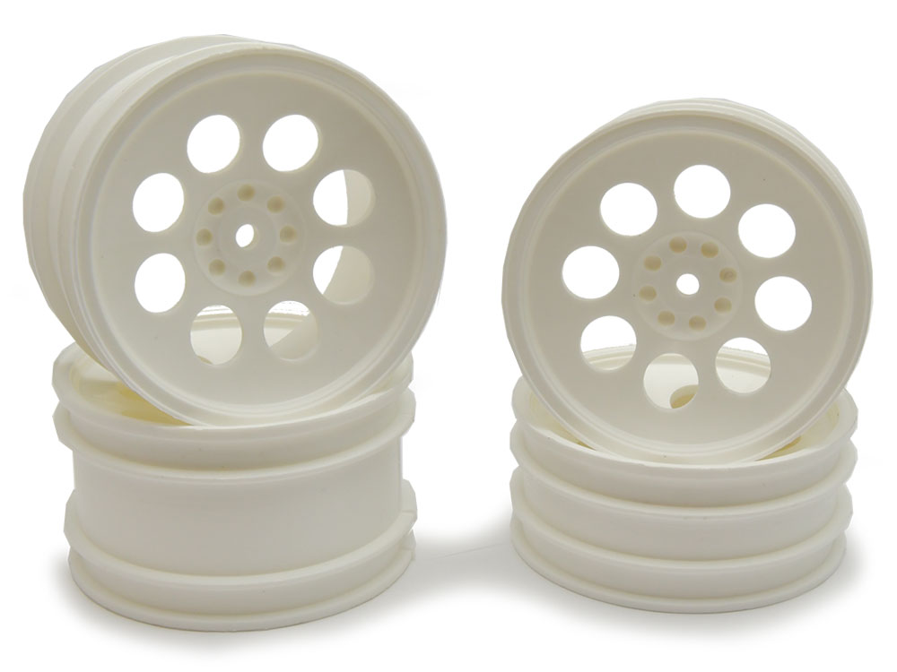 JC Racing Products Kyosho Optima Pepper Pot - White (4) JCKO4-W