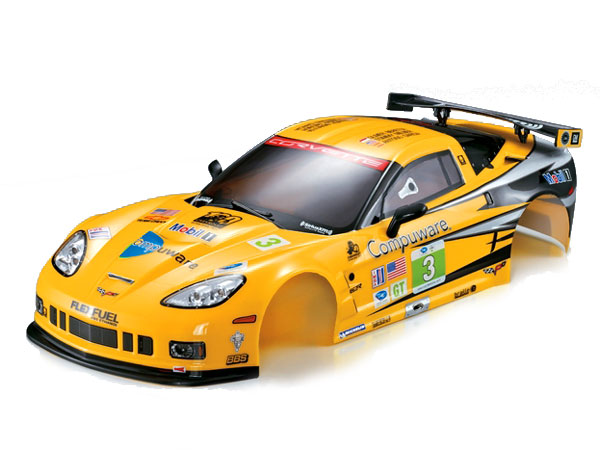 Killer Body Corvette GT2 190mm Rally-Racing Ready to Use KB48012