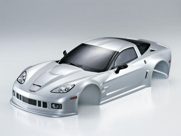 Killer Body Corvette GT2 190mm Silver Ready to Use KB48014