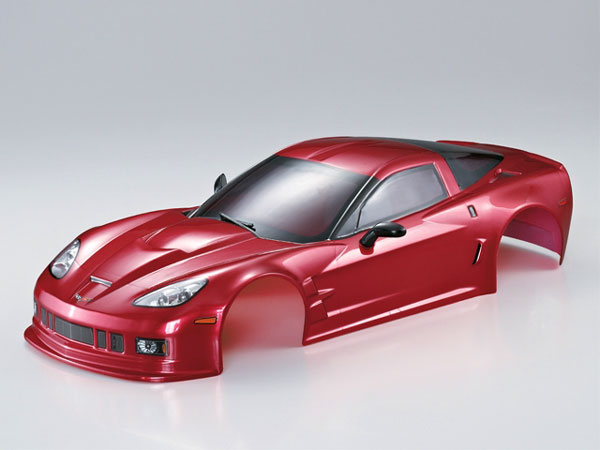 Killer Body Corvette GT2 190mm Iron-Oxide-Red Ready to Use KB48016