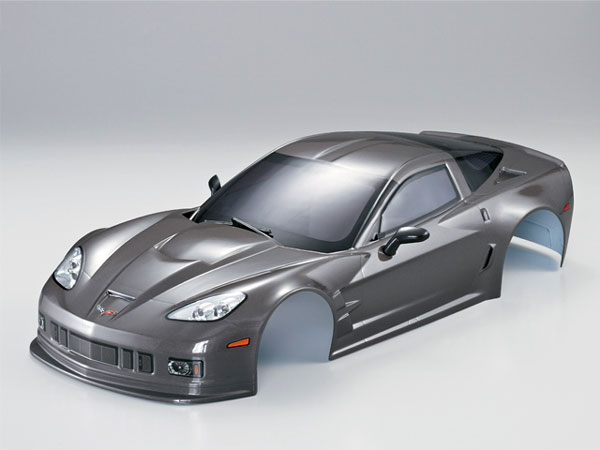 Killer Body Corvette GT2 190mm Silver-Grey Ready to Use KB48018