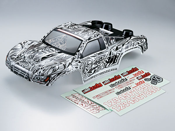 Killer Body Sct Monster (1/10) Tattoo with Decals KB48034