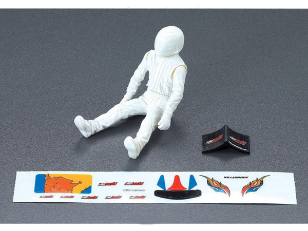 Killer Body Driver Doll Clear + Decal Set  KB48050
