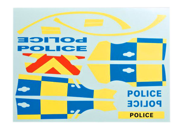 Killer Body Decal Sheet Police (for 1/10)  KB48127