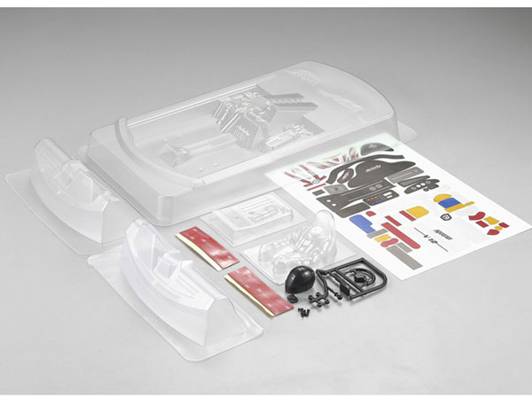 Killer Body Rear-Engine Cockpit Set (Clear) KB48243