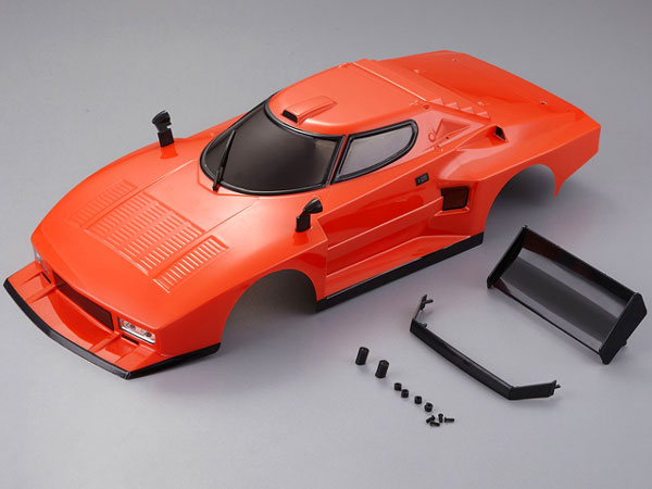 Killer Body Lancia Stratos (1977 Giro D italia) Orange Ready to Use KB48310