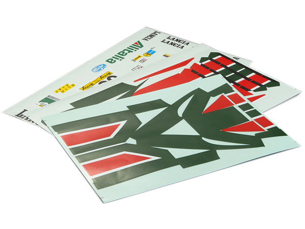 Killer Body Lancia Stratos (1977 Giro D'italia), Decal Sheet  KB48313