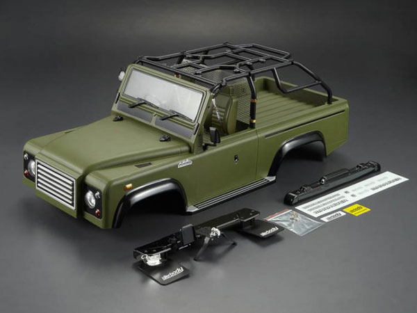 Killer Body 1/10 Crawler Marauder Military Green All-in Ready to Use (Land Rover Style) KB48419