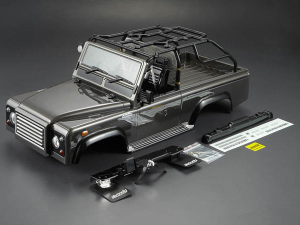 Killer Body 1/10 Crawler Marauder Silver-gray All-in Ready to Use (Land Rover Style) KB48415
