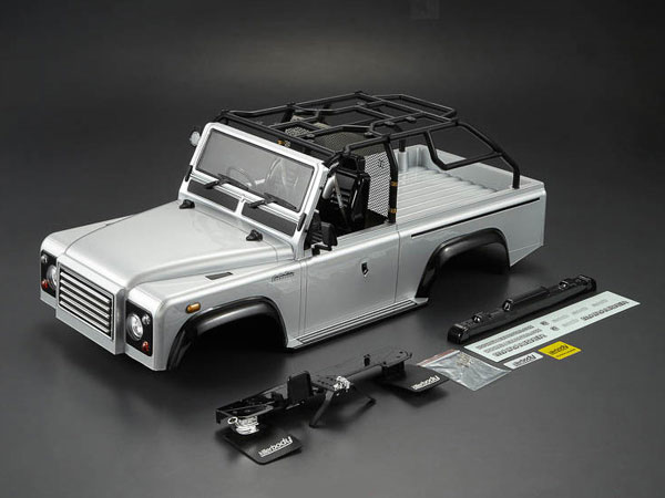 Killer Body 1/10 Crawler Marauder Silver All-in Ready to Use (Land Rover Style) KB48416