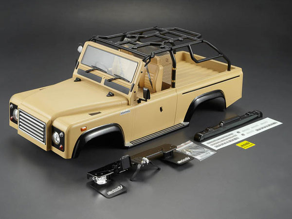 Killer Body 1/10 Crawler Marauder Military Desert All-in Ready to Use (Land Rover Style) KB48418