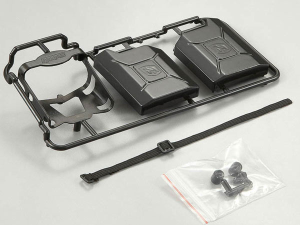Killer Body Black Plastic Jerry Can Set  KB48429