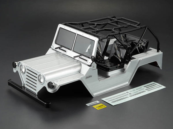 Killer Body 1/10 Crawler Warrior Silver All-in Ready to Use (Willys Jeep Style) KB48443