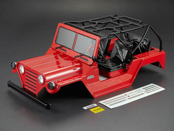 Killer Body 1/10 Crawler Warrior Red All-in Ready to Use (Willys Jeep Style) KB48444