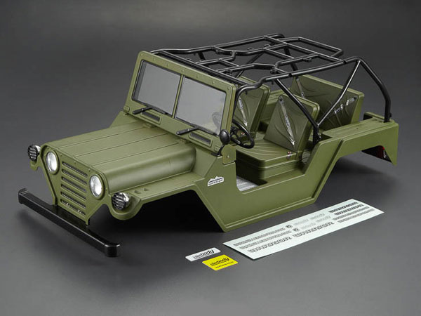 Killer Body 1/10 Crawler Warrior Military Green All-in Ready to Use (Willys Jeep Style) KB48446