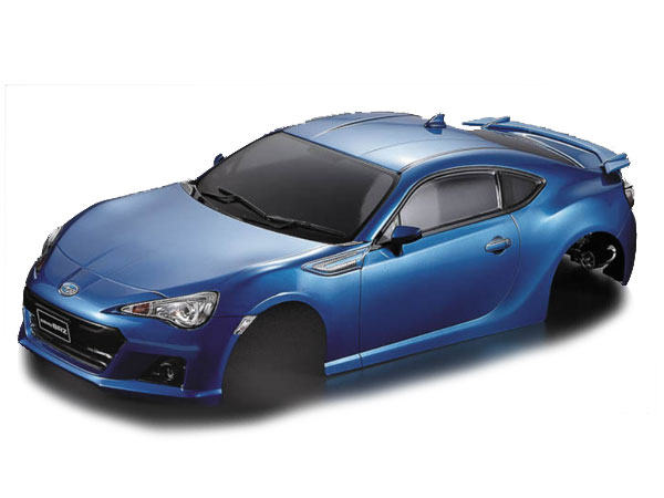 Killer Body Subaru BRZ 195mm Metallic Blue-RTU KB48576