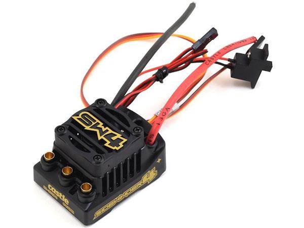 Castle Sidewinder 4, 2-3S, 2A BEC, WP Sensorless ESC CC010-0164-00