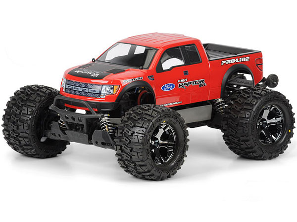 Pro-Line Raptor SVT Clear Body PL3348-00