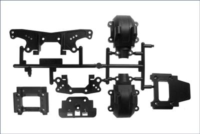 Kyosho Sus. Holder & Shock Stay Set Fazer FA012