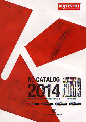 Image Of Kyosho RC Catalogue 2014