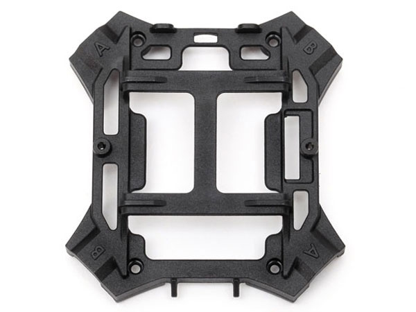 LaTrax Main Frame, Lower (Black)/ Screws 6624