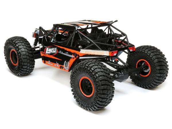 Losi 1 10 4wd Rock Rey LOS232006 Hex Rotor Caliper /& Pin Set Baja Rey 4