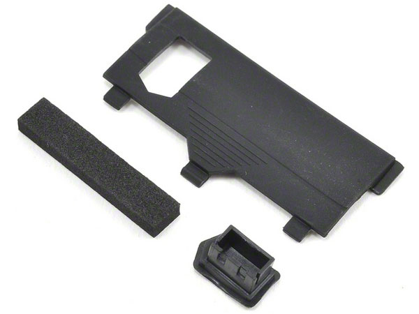 Losi Battery Door Set Micro SCTE, Rally-X LOS201002