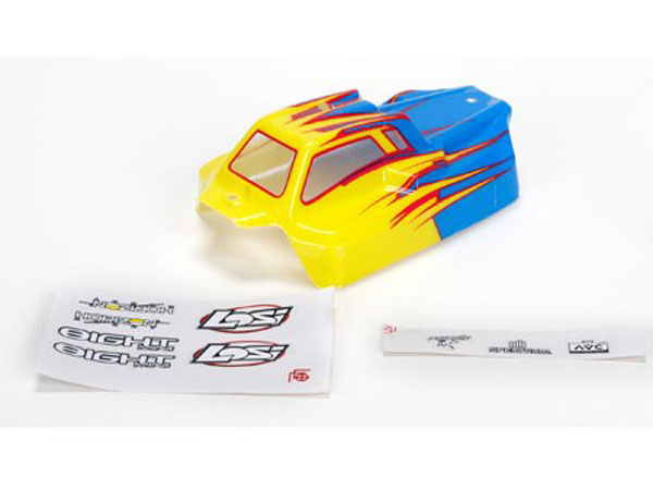 Losi Body Painted Blue: Mini 8 AVC LOS210002
