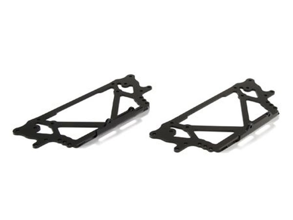 Losi Side Plate Set Chassis Black: Night Crawler 2.0 LOS231004